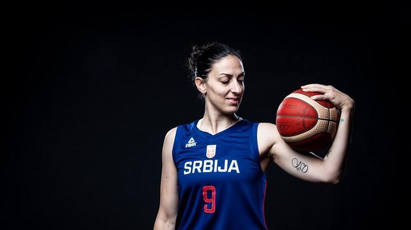 Jeļena Brūksa. Foto: FIBA
