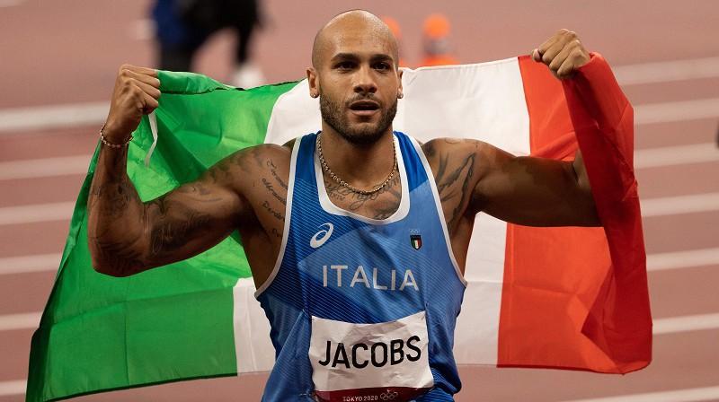 Marsels Džeikobss: pirmais kontinentālās Eiropas pārstāvja triumfs 100 metros kopš 1972. gada. Foto: ZUMA/Scanpix