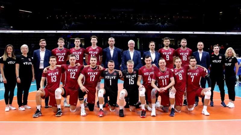 Foto: CEV / Latvijas Volejbola federācija