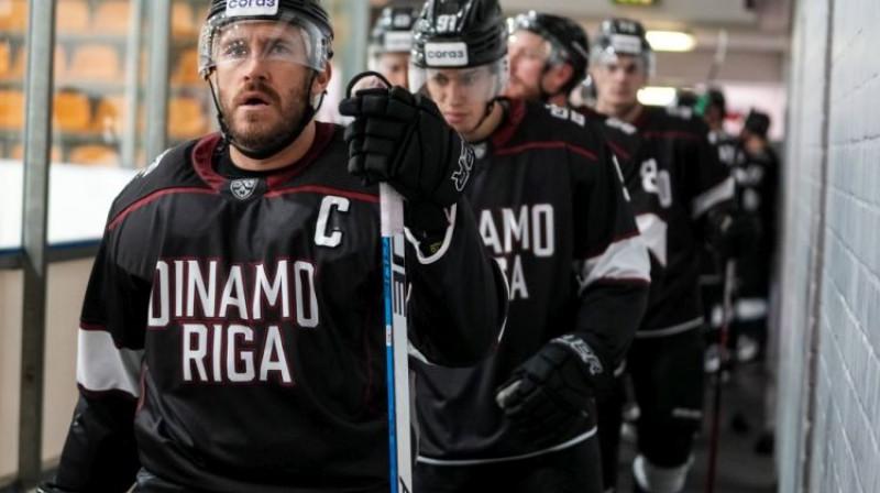 Mārtiņš Karsums un Rīgas ''Dinamo'' sāks jauno KHL sezonu. Foto: Raimonds Volonts/Dinamoriga.lv