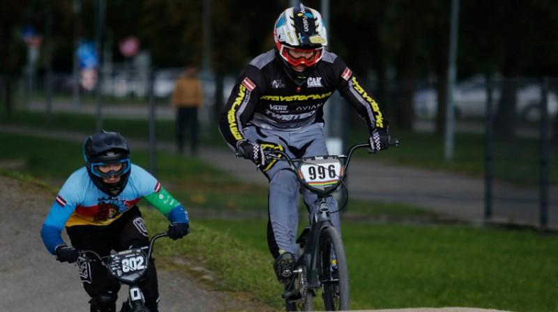 Kristens Krīgers. Foto: Sanda Balode/Latvijas riteņbraukšanas federācija.