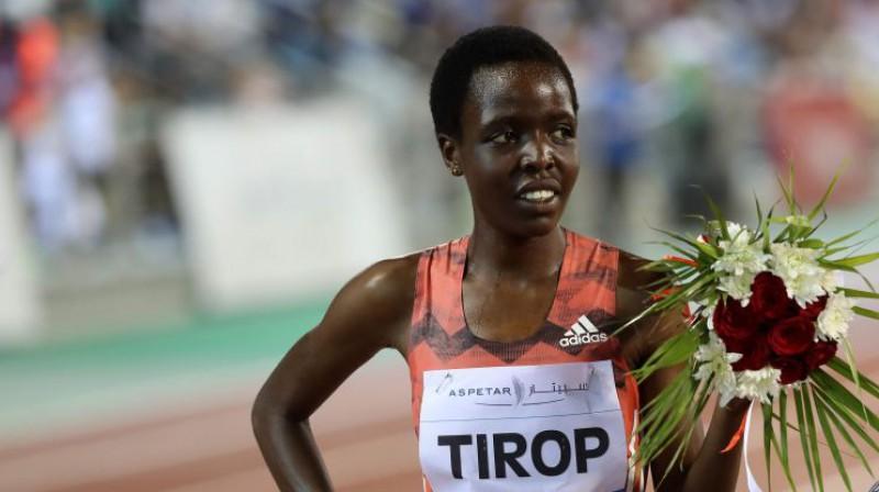 Agnese Tiropa. Foto: AFP/Scanpix