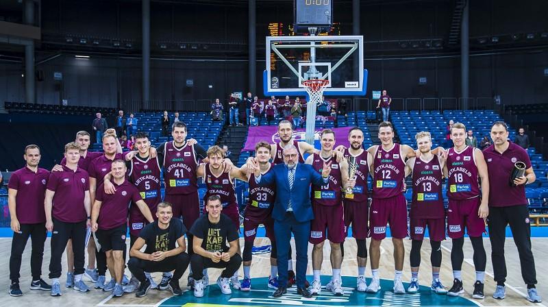 """Kaspars Bērziņš un """"Lietkabelis"""" 2021. gada 14. septembrī. Foto: Lietkabelis"""