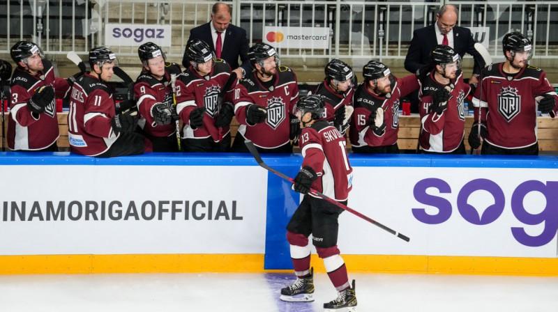 """Rīgas """"Dinamo"""" hokejisti. Foto: """"Dinamo Rīga"""""""