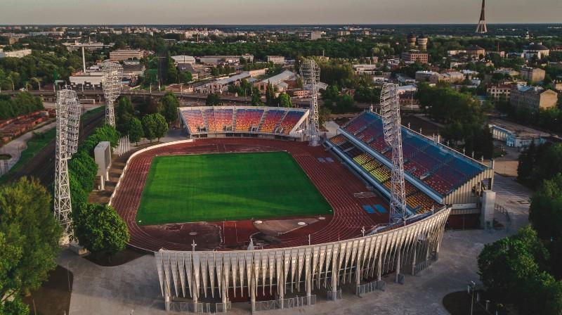 """Foto: Emīls Desjatņikovs / Kultūras un sporta centrs """"Daugavas stadions"""""""