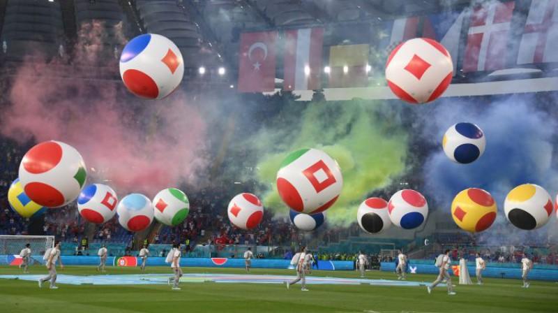 Euro 2020 atklāšanas ceremonija. Foto: Zumapress/Scanpix