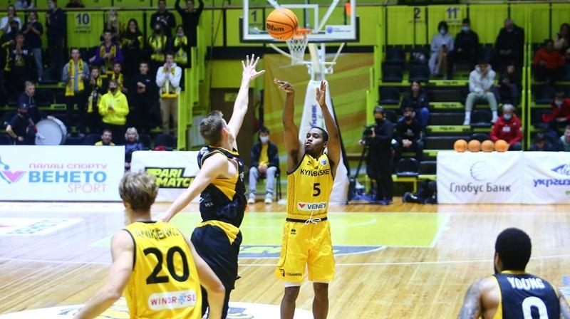 Maikls Kefijs (#5). Foto: FIBA Europe Cup
