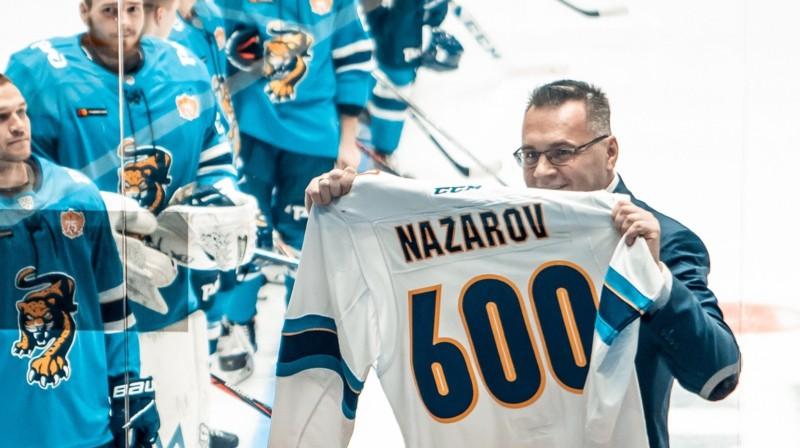 Andrejs Nazarovs. Foto: HC Sochi