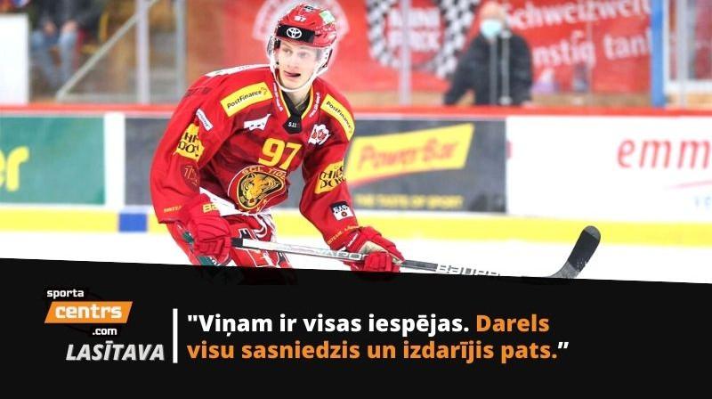 Darels Dukurs. Foto: SCL Tigers