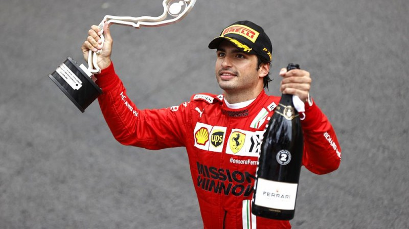 Karloss Sainss. Foto: Scuderia Ferrari