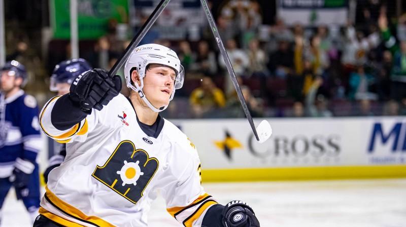 Eduards Tralmaks. Foto: Maine Mariners Hockey