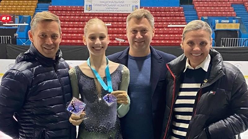 "Sofja Stepčenko. Foto: ""Kristal Ice"""