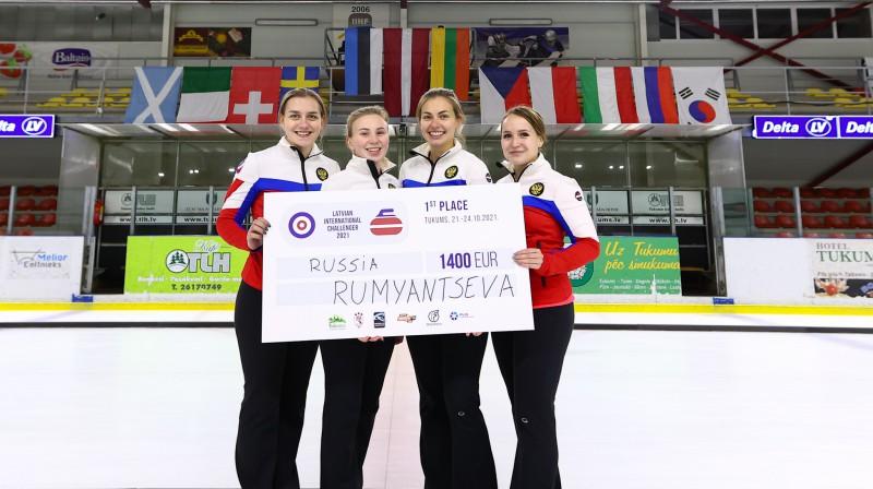 Vladas Rumjancevas komanda (Krievija) Foto: Roberts Voskāns