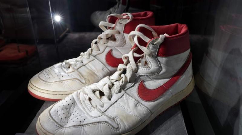 Maikla Džordana sporta apavi. Foto: AFP/Scanpix
