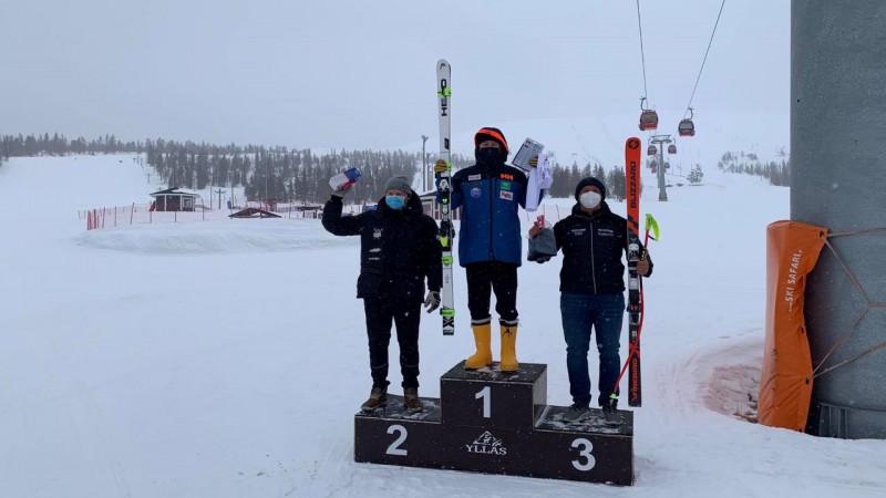 Elvim Opmanim 3. vieta Somijas čempionātā nobraucienā