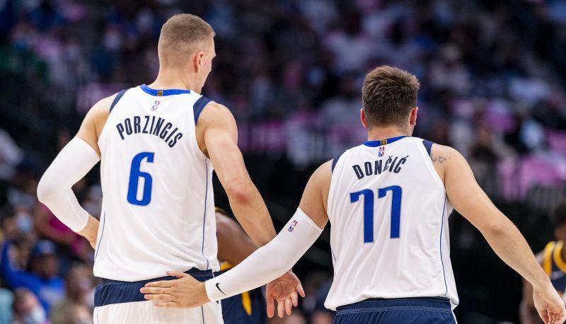 """Porziņģim 17 punkti pirmajā puslaikā, """"Mavericks"""" ar +68 sabradā """"Hornets"""""""